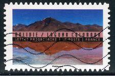TIMBRE FRANCE  AUTOADHESIF OBLITERE N° 1363 / ANNEE DU TOURISME / BOLIVIE