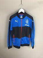 PUMA GLASGOW RANGERS FC Track Jacket - Medium - Great Condition - Men's