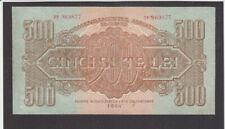 500 LEI FINE REPAIRED BANKNOTE  ROMANIA RUSSIAN OCCUPATION 1944 PICK-M14 RARE