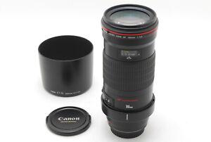 【TOP MINT】Canon EF 180mm f/3.5 L Macro Ultrasonic Lens From JAPAN