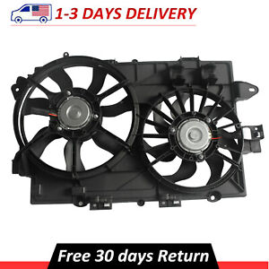 Radiator Cooling Fan Assembly 19129813 For Chevy Equinox Pontiac Torrent 3.4L