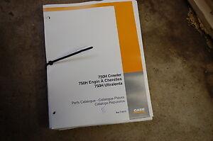 CASE 750H Tractor Dozer Crawler Parts Manual book catalog list spare shop 2000