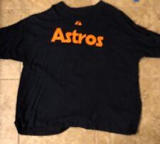 Nolan Ryan #34 Houston Astros Cooperstown T-shirt 3XL Jersey Style Navy MLB