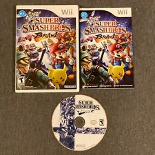 Super Smash Bros. Brawl (Wii, 2008) Brothers Complete w/ Manual