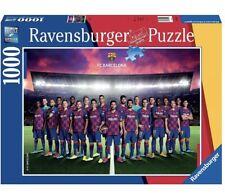 Ravensburger 1000pc. Jigsaw Puzzle FC Barcelona Season 2019/2020, Football Fan