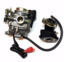 PERFORMANCE 20MM QLINK 50CC 50 CARBURETOR & INTAKE MANIFOLD BOOT SCOOTER MOPED