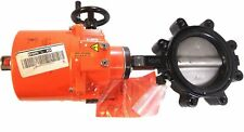 Melimo F6150Hd+Sy3-24 6-inch 2 - Way Butterfly Valve On/Off 24V