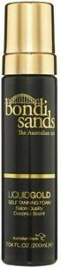 BONDI SANDS LIQUID GOLD SELF TANNING FOAM COCONUT SCENT 200ML