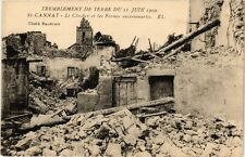 CPA Tremblement de Terre - ST-CANNAT - Le Clocher et les Fermes (214038)