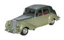 #76bn6002 - Oxford Bentley MKVI-metallico-verde chiaro/Metallico-VERDE SCURO - 1:76