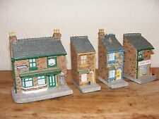 Coronation Street Collectable Decorative Ornaments Pieces X 4 John Hine