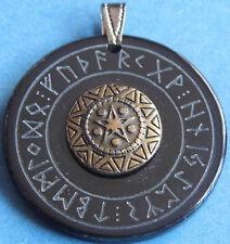 Cuerno Runas Amuleto Estrella Del Norte