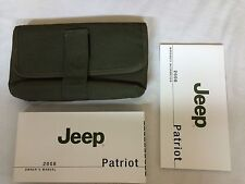 2008 Jeep Patriot Owner's Owners Manual Guide Books Literature