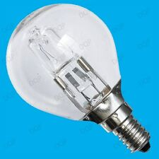 12x 42W =60W WATT CLEAR DIMMABLE HALOGEN GOLF ENERGY SAVING LIGHT BULBS SES E14