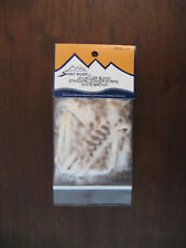 Fly Tying Jailhouse Bunny Zonker Strips White/Brown