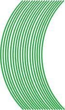 3mm wheel rim tape striping stripes stickers L Green..(38 pieces/9 per wheel)