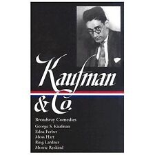 Kaufman and Co Comedies by George S. Kaufman 1st/1st Ed in DJ Library of America