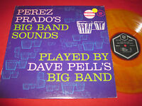 NM JAZZ LP PEREZ PRADO BOG BAND SOUNDS - DAVE PELL - P.R.I. 3006 YELLOW VINYL