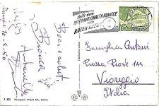 MEDICINE - RED CROSS: postmark on card SWITZERLAND 1950