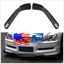 US Shipping Car Truck Carbon Fiber Look Bumper Lip Diffuser Splitters 2653 Model
