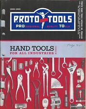 Tool Catalog - Proto-Tools - Hand Tools Industry 1962-63 Price List 1965 (TL34)