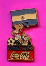 1994 WORLD CUP PIN ARGENTINA FIFA WORLD CUP COCA COLA TEAM PIN