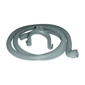 Compatible Dishwasher Drain Hose 2m Long 29mm Cuff 90 Degree Bend