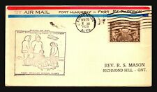Canada 1929 FFC - Ft Mcmurray to Ft McPherson - Z16663