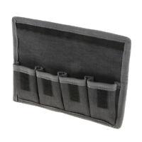DSLR Camera Battery Storage Case Holder Pouch ( 4 Pocket ) for AA battery/lp-e6/