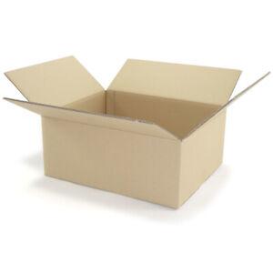 20 Karton Faltkarton Faltschachteln 500 x 400 x 200 mm