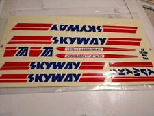 Skyway BMX Bike Badge Decal 80/'s NOS Freestyle Frame Street Beat TA Sticker New