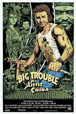 T1526 Silk Poster BIG TROUBLE IN LITTLE CHINA Kurt Russell Kung-Fu Movie Art