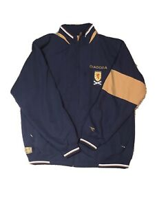 Mens Diadora Scotland National Football Team Soccer Jacket Size XL