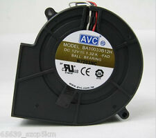 AVC BA10033B12H -FAD Server Blower Fan DC12V 1.32A Ball Bearing 3pin Cooling Fan