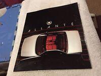 1987  CADILLAC   ALLANTE   PRESTIEGE  LIT    LOOK    NOS