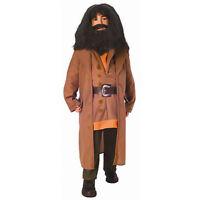 Boys Hagrid Harry Potter Halloween Costume Family Brown Coat Shirt Belt Child L
