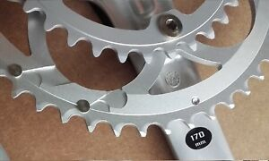 NEW CAMPAGNOLO Veloce 10 speed chainring 135bcd 53t 39t MPS