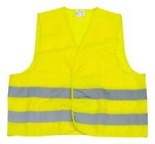 gilet jaune de sécurité réfléchissant  visibilité moto auto adulte taille unique