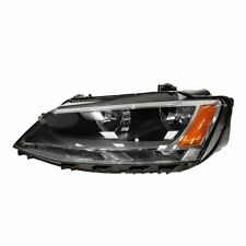 Headlight Headlamp Halogen Assembly Driver Side Left LH for 11-15 VW Jetta