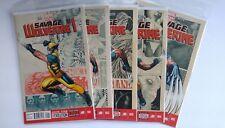 Savage Wolverine #1 #2 #3 #4 #5 Complete Frank Cho Run 1st Prt Set Marvel Comics