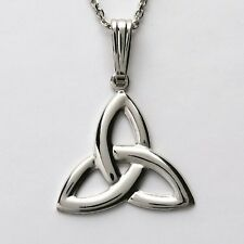 Sterling Silver Irish Trinity Knot Celtic Pendant by Fadó