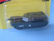MATCHBOX M1 A1 ABRAMS TANK Militaire Vert Olive jouet modèle 70 mm aux Etats-Unis BP