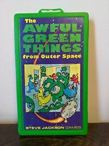 The Awful Green Things From Outer Space Steve Jackson Games Pocket Box Edition