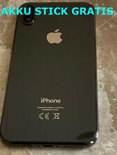 Apple iPhone X(10) Schwarz Backcover Rahmen Gehäuse Akkudeckel Rückseite