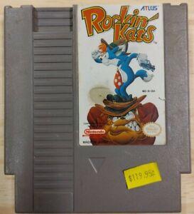 Rockin' Kats, Nintendo NES, Rocking, Cats
