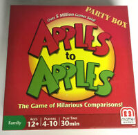 Apples to Apples Party Edition Mattel Games Amazing Gift For The Holidays