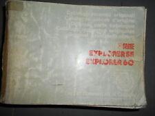 Same EXPLORER 55 60 1986 : catalogue de pièces