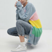 Women's Winter Baggy Cardigan Coat Long Chunky Knitted Oversized Sweater Jumper