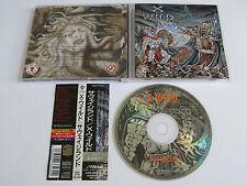 X-WILD Savageland CD 1996 RARE OOP SPEED/HEAVY ORIGINAL 1st PRESSING JAPAN!!!