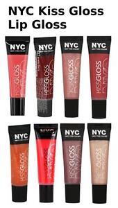 "NYC Kiss Gloss Lip Gloss,""CHOOSE YOUR SHADE!"""